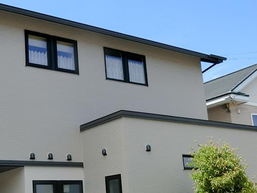 施工事例 外壁屋根塗装セットプラン