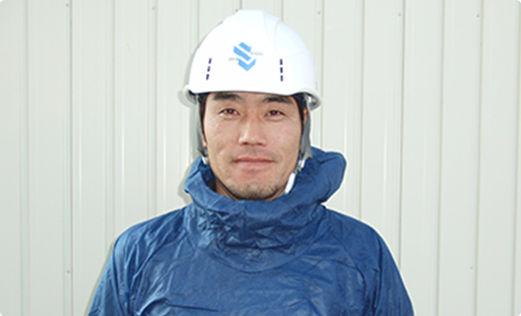 外壁塗装・屋根塗装職人|西尾職長