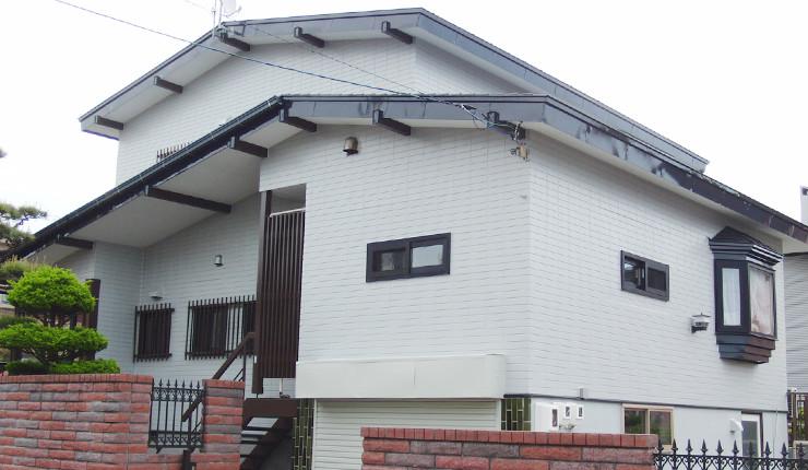住宅外壁・屋根塗装の完了